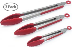 Top 10 Best Steel Kitchen Tongs Reviews