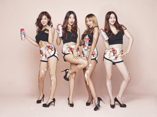 1.Top 10 Popular Korean Kpop Girl Groups In 2020