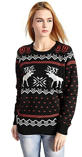 Top 10 Best Women Pullover Christmas in 2020
